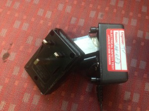 This was an adaptor for a cassette play in use in and office in Hemel Hempstead
